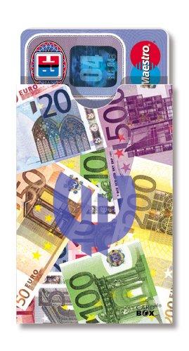 cardbox DESIGN: Euro / Geldscheine /// SET /// Hüllen für Karten im Scheckkartenformat (Box Sichere Karte Hochzeit)