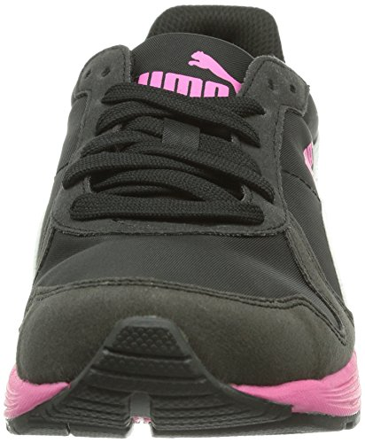 Puma Ftr St Runner Nl, Baskets mode mixte adulte Noir (Black-White-Fuchsia Purple 06)