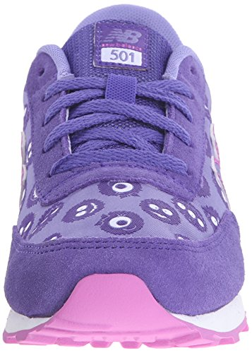 New Balance Kl501 Kids Lifestyle Cordón, baskets sportives fille violet (Flutter)