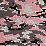 Stoff Jersey Baumwolljersey Vera Camouflage Altrosa 50cm x 160cm Stoff Zum Nähen Meterware