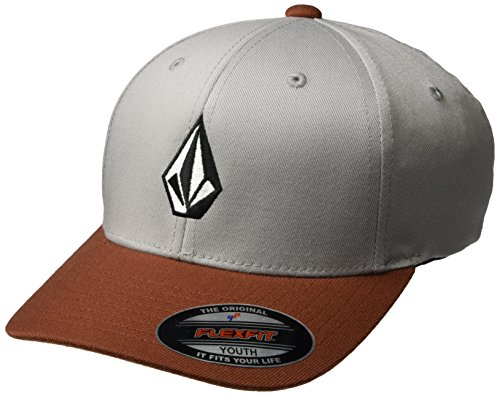 volcom-full-stone-xfit-cap-casquette-enfant-rouge-garcon-802735-dark-clay-one-size