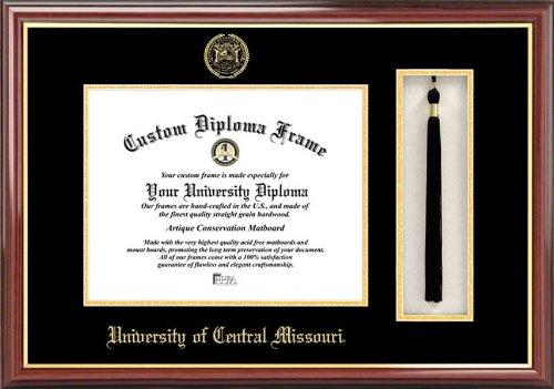 Campus Images CAMPUS Bilder Universität Central Missouri Quaste Box und Diplom Rahmen, 27,9x 21,6cm - Missouri Rahmen