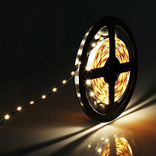 Striscia LED, 5M 300 LED 2835 SMD Lumin Tekco® Bianco Caldo Strisce LED