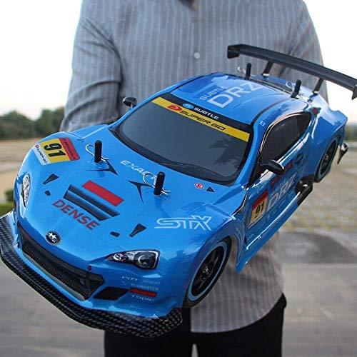 Pkjskh 2.4GHz ad alta velocità RC ricaricabile 40KM / H 4WD professionale for adulti Sport Radio telecomandato Race Car giocattolo di compleanno for bambiniDrift auto a quattro ruote motrici Controllo