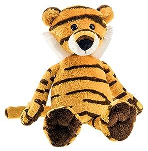 Schaffer 5551Peluche de Tiger de Amur, Amarillo Negro
