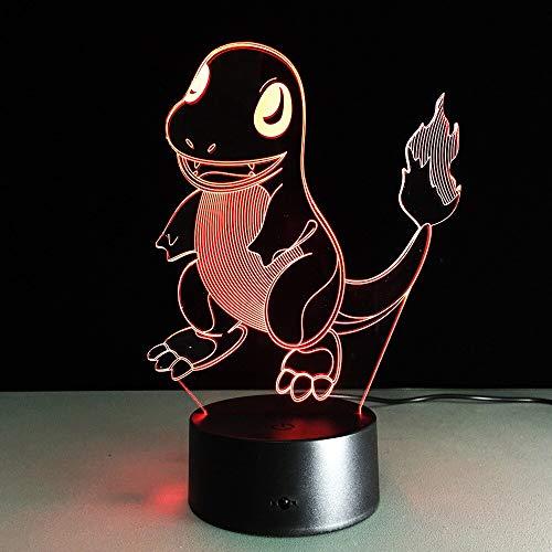 weiaikeke Pokemon Pocket Monster Personaje Figura de acción 7 Colores Cambiar LED Luz de la Noche de Dibujos Animados para niños Dropshipping Gratis