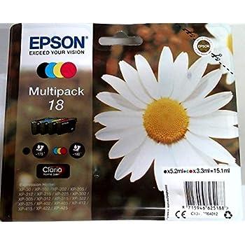 6cc1cf10c81 Epson C13T18064012 T1806 Multipack Ink Cartridge Pack