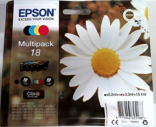 Epson Original T1806 Multipack Tintenpatrone Pack