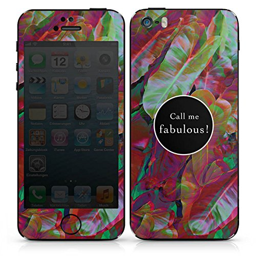 Apple iPhone 4s Case Skin Sticker aus Vinyl-Folie Aufkleber Fabulous Bunt Statement DesignSkins® glänzend