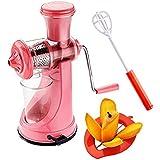 Combo Of Manual Fruit Juicer, Mango Cutter And Quick Mixi