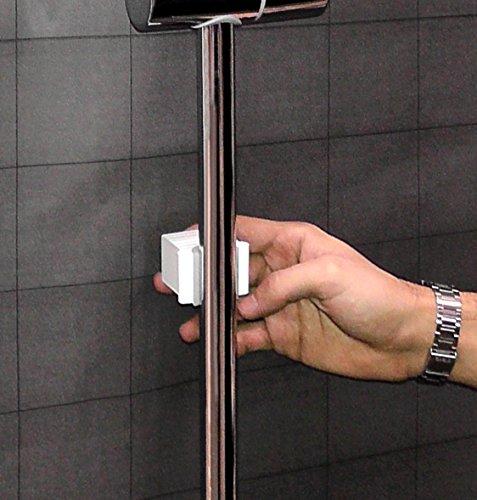 Accessori Portasapone Per Doccia.Waterful T190229 Mensola Universale Per Asta Doccia Portasapone