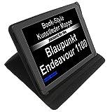 foto-kontor Tasche für Blaupunkt Endeavour 1100 Book Style Schutz Hülle Buch schwarz