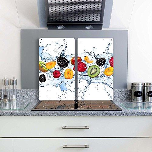 fruchte-2-set-glas-abdeckplatte-2x30x52-schneidebrett-herdabdeckplatte