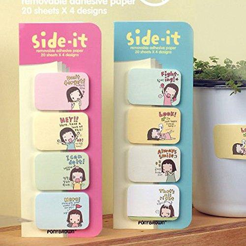 Creative Biscuit Instant Niu N Times Stickers Scratch Pad (Cute Kids)