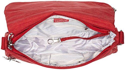 Kipling Damen Earthbeat S Umhängetaschen, 26x17x7 cm Rot (33U Dazz Red)