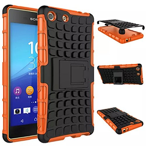 sony-xperia-m5-case-drunkqueen-heavy-duty-rugged-hybrid-armor-dual-layer-hard-shell-tire-tread-grena