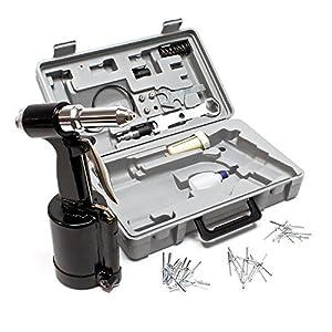Pistola de remachado de aire comprimido 2,4-4,8mm herramienta de remachado juego de alicates de remachado neumático