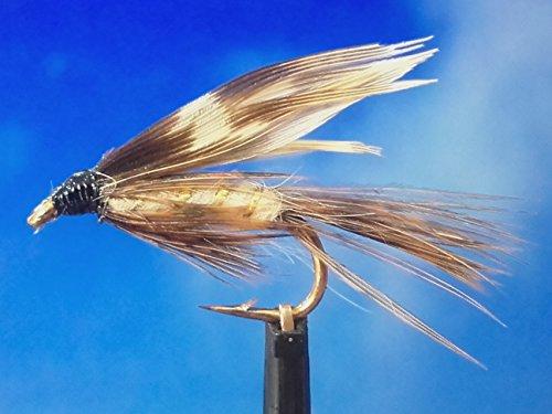 Nassfliegen ' March Brown' 3er Set, Hakengröße 16