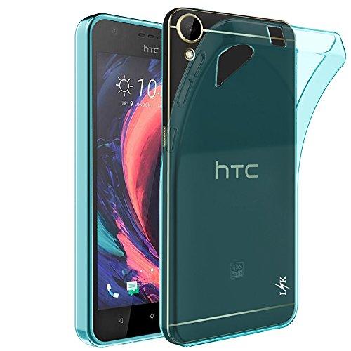Desire 10 Lifestyle Hülle, LK Ultra Schlnk Dünn TPU Gel Gummi Haut Silikon Schutzhülle Abdeckung Case für HTC Desire 10 Lifestyle (MintGrün)