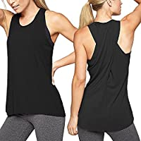 Damark(TM) Ropa Camiseta sin Mangas Tank Tops para Mujeres, Verano Sexy Deporte Casual Yoga Chaleco Blusa Tops Blusas Crop Tops Vest T Shirt Mujeres