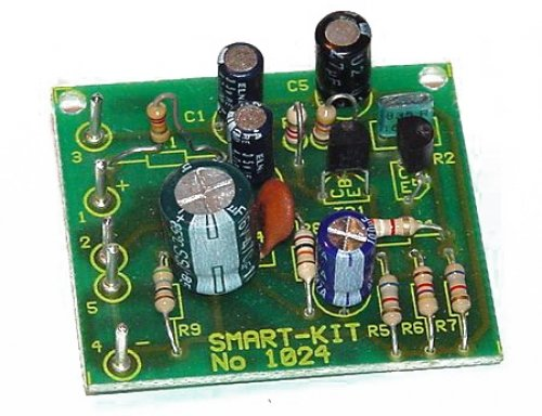 Mikrofon Vorverstärker 12V - 20V Bausatz B1024 --! ELEKTRONIK BAUSATZ !--