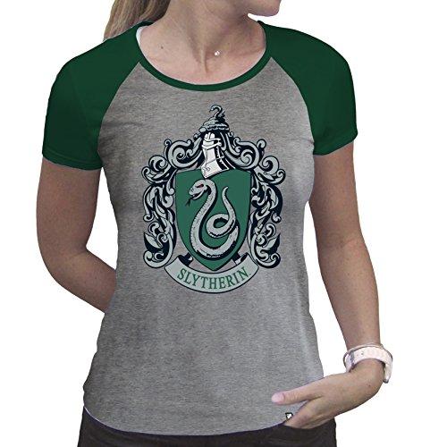 ABYstyle - Harry Potter - Slytherin T-Shirt Damen (XXL)