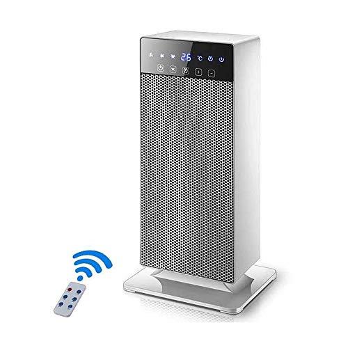 Radiador eléctrico MAHZONG Pequeño Calentador Vertical Inteligente Temperatura Constante Ahorro de Velocidad...