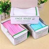 wjkuku Vlies Stoff medicical Cechya Einweg Face Maske, Filter Bakterien 3-lagig 50/BX preisvergleich bei billige-tabletten.eu