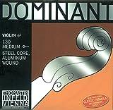 Thomastik Saiten für Violine Dominant Nylonkern, Satz 4/4 Weich, E Stahlkern, Alu. Umsponnen