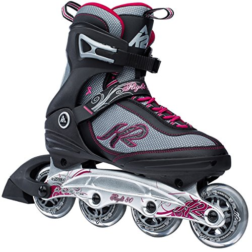 K2 Flight 80 Damen Inlineskates Gr. 39 (US 8.0)