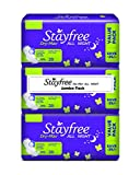 #9: Stayfree Dry Max All Night Pads Jumbo Pack - 84 Pads (Extra Large)