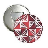 Rot Windmühle Mexiko Totems uralte Zivilisation, rund Flaschenöffner Kühlschrank Magnet Pins Badge Button Geschenk 3