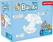 Sanita Bambi Baby Diapers Super Pack, Size 3, Medium, 5-9 kg, 140 Count