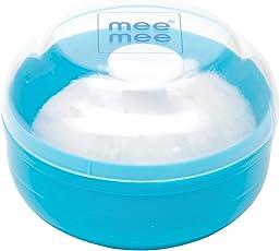 Mee Mee Powder Puff (Light Blue)