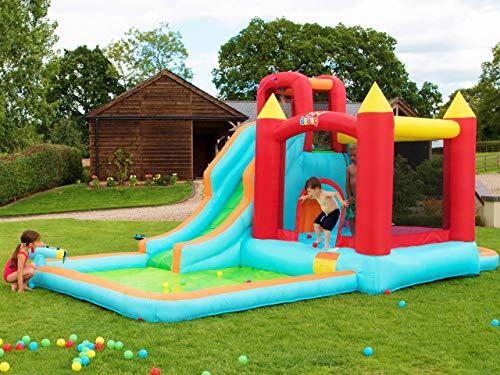 BeBoP Parque acuático Hinchable para jardín Wild Splash para niño