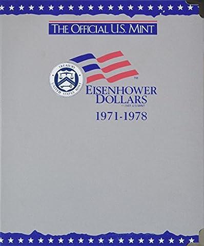 The Official U.S. Mint Eisenhower Dollars Coin Album: 1971-1978