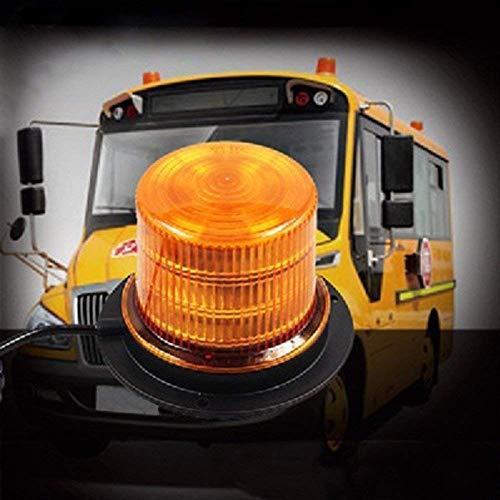 dumleuchte Orange, 48 Rundumleuchte Led Magnet - EIS, Schnee, Frost und Wind Wetter, Eignet für die Meisten Fahrzeuge ()