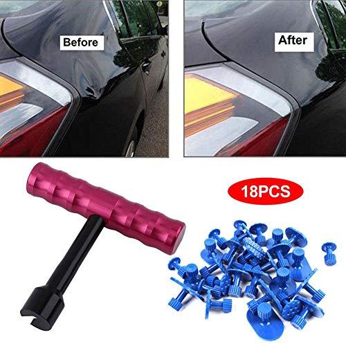 Ingeniously Auto Body Dent Repair Tool - Dellenreparaturset mit Dellenabzieher für Auto Body Hagel Dent Removal Dent Remover Karosseriereparatur