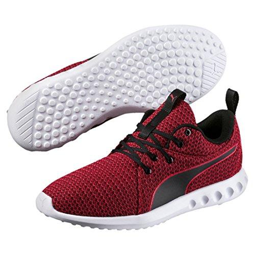 Puma Herren Carson 2 Knit Outdoor Fitnessschuhe Schwarz (Toreador-Black)
