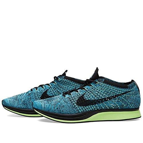 Nike Flyknit Racer, Scarpe da Corsa Uomo Azul (Azul (blue lagoon/black-polarized blue))