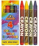 20 Paquet Crayon Cire 4 Crayon Cire Par Paquet