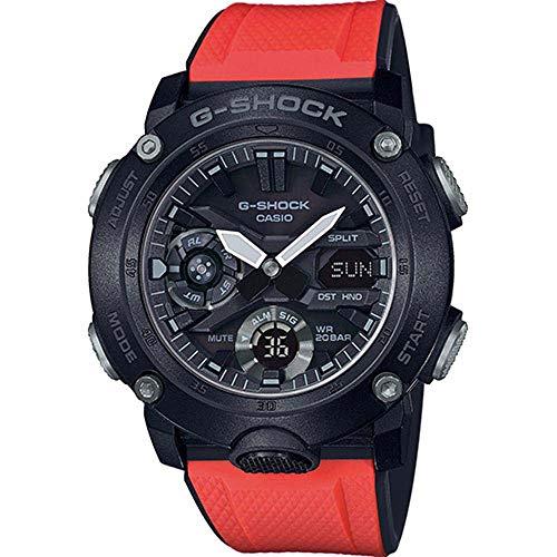 Casio G-Shock Herrenuhr mit 2 Wechselbändern GA-2000E-4ER (Casio G-shock Ga)