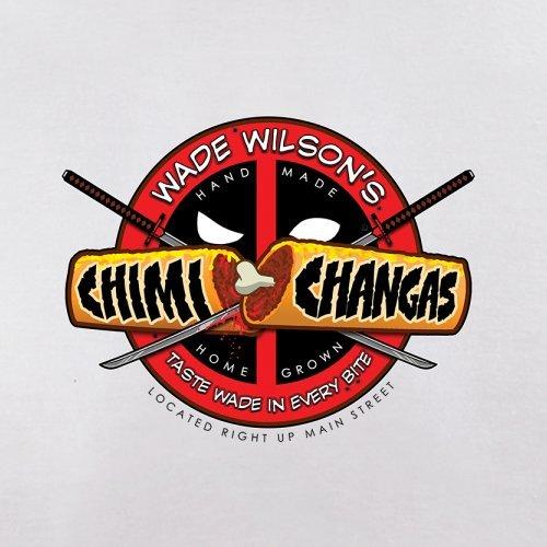 Wade Wilsons Chimi Changas - Herren T-Shirt - 13 Farben Weiß