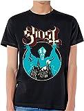 Ghost B.C. Hombre Opus Camiseta Negro