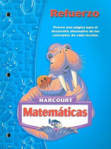 Harcourt Matematicas: Refuerzo, Grado 3 (Matematicas 05)