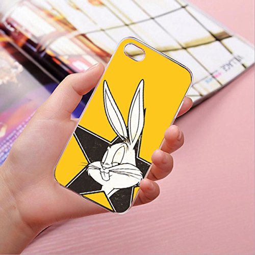 Hardcase Looney Tunes Bugs Bunny Série 2 - LOONEY TUNES bleu, Iphone 7 Bugs (Bogues) Tete 2 jaune