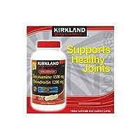 Kirkland Signature Extra Strength Glucosamine 1500 mg & Chondroitin 1200 mg Tablets, 220 Cpont