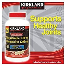 Kirkland Signature Extra Strength Glucosamine / Chondroitin 220 Tablets
