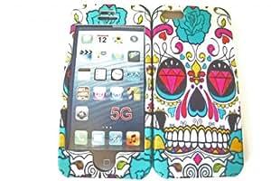 crâne de sucre Sugar Skull Design iphone 5 5s Coque Avant et arrière Coque Case