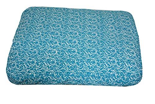 Colchoneta de Meditación Zabuton Extra Grosor colchoneta de meditación para una Mayor Comodidad en Largo Medi Animales 80cm x 70cm x 7cm, TV-ZB01, Banarasi Grün